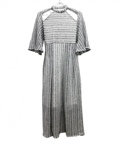 Ameri(アメリ)AMERI (アメリ) メディショルダーオープンドレス ホワイト サイズ:FREEの古着・服飾アイテム