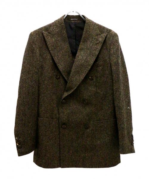 TAGLIATORE(タリアトーレ)TAGLIATORE (タリアトーレ) ヴェスビオ6Bダブルジャケット ブラウン サイズ:46/7の古着・服飾アイテム