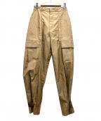 FILL THE BILL(フィルザビル)の古着「カーゴパンツ」|ベージュ