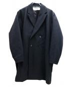 BASISBROEK(バージスブルック)の古着「ダブルコート」|ブラック