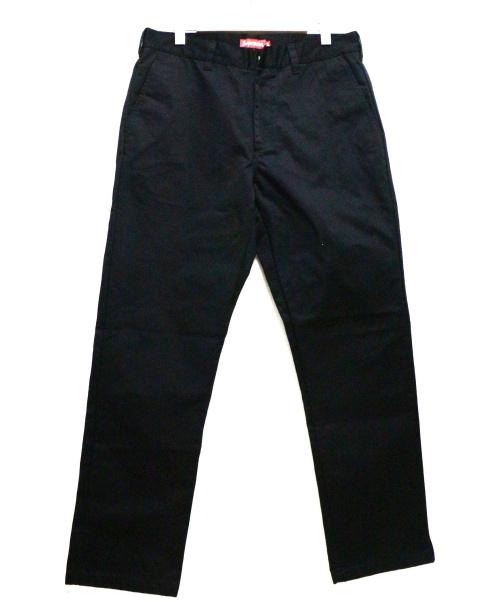 SUPREME(シュプリーム)Supreme (シュプリーム) ワークパンツ ブラック サイズ:34inch 未使用品の古着・服飾アイテム