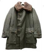 MALSAKRAD(マルサクラッド)の古着「ヴィンテージムートンキャンバスコート」 グリーン