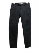 UNDERCOVER(アンダーカバー)の古着「テーパードストレッチスラックス」|ブラック