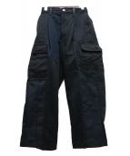 MAISON SPECIAL(メゾンスペシャル)の古着「サスティナブルリメイクカーゴパンツ」 ブラック