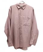 saby(サバイ)の古着「スタンダードシャツ」 ピンク