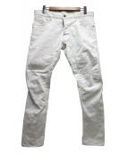 DSQUARED2(ディースクエアード)の古着「タイディバイカージーン」|ホワイト