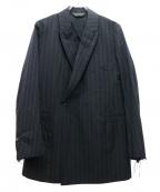Essay(エッセイ)の古着「ピークドラベルテイラージャケット」 ブラック