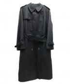 BURBERRY LONDON(バーバリー ロンドン)の古着「ライナー付トレンチコート」|ブラック