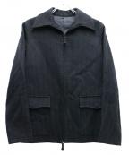 Jean Paul Gaultier homme(ジャンポールゴルチェオム)の古着「ジップジャケット」 ブラック