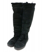 CHANEL(シャネル)の古着「ブーツ」|ブラック
