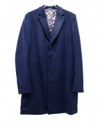 Paul Smith London(ポールスロンドン)の古着「チェスターコート」 ネイビー