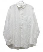saby(サバイ)の古着「スタンダードシャツ」 ホワイト