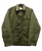 US NAVY(ユーエスネイビー)の古着「80sA-2デッキジャケット」|グリーン