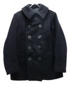 freewheelers(フリーホイーラーズ)の古着「メルトンPコート」|ネイビー