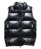 Pyrenex(ピレネックス)の古着「Loicダウンベスト」|ブラック