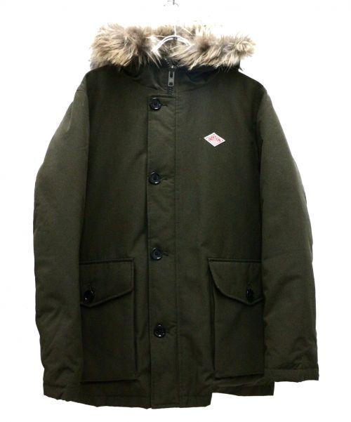 DANTON(ダントン)DANTON (ダントン) ダウンジャケット オリーブ サイズ:Lの古着・服飾アイテム