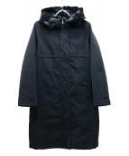 ()の古着「ムファーライナー付フーデッドコート」|ブラック