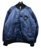 ()の古着「MA-1ジャケット」|ネイビー