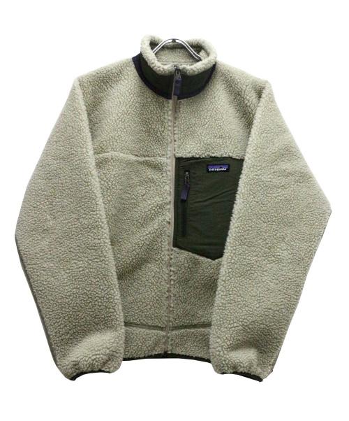 Patagonia(パタゴニア)Patagonia (パタゴニア) クラシックレトロXジャケット ベージュ サイズ:Mの古着・服飾アイテム