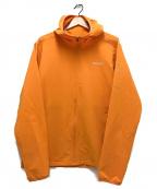 MERRELL(メレル)の古着「Quest Full Zip Hooded Softshel」|オレンジ