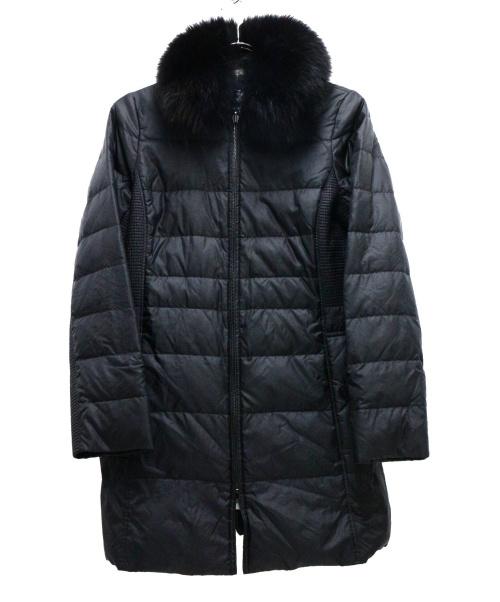 BURBERRY LONDON(バーバリーロンドン)BURBERRY LONDON (バーバリーロンドン) ダウンコート ブラック サイズ:38の古着・服飾アイテム