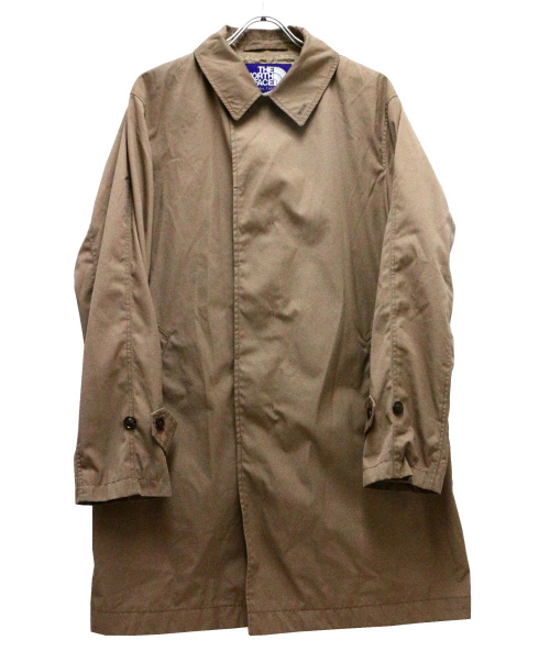THE NORTHFACE PURPLELABEL(ザノースフェイスパープルレーベル)THE NORTHFACE PURPLELABEL (ザノースフェイスパープルレーベル) 65/35ステンカラーコート ベージュ サイズ:Lの古着・服飾アイテム
