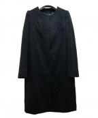 PRADA()の古着「カシミヤ100%コート」|ブラック