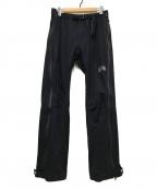 MOUNTAIN HARD WEAR(マウンテンハードウェア)の古着「ドライステインパンツ」 ブラック
