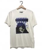 Thee Hysteric XXX(ジィーヒステリックトリプルエックス)の古着「ROYAL TRUX/RTX SEP9 Tシャツ」 ホワイト