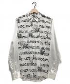 BLACK COMME des GARCONS()の古着「袖切替シャツ」|ホワイト