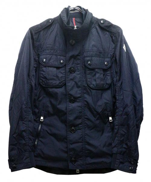 MONCLER(モンクレール)MONCLER (モンクレール) MATEミリタリーナイロンジャケット ネイビーの古着・服飾アイテム