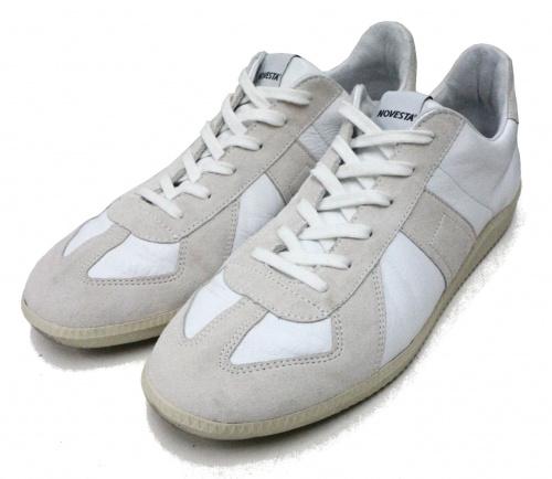 NOVESTA(ノベスタ)NOVESTA (ノベスタ) ジャーマントレーナー ホワイト サイズ:43の古着・服飾アイテム