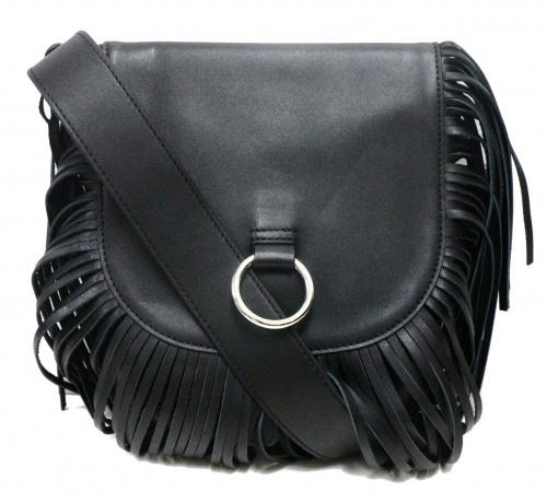 CLANE(クラネ)CLANE (クラネ) FRINGE MINI SHOULDER BAG ブラックの古着・服飾アイテム