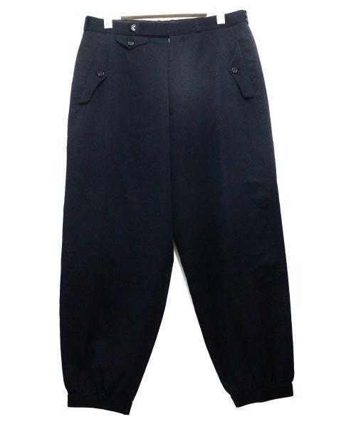 YS for men(ワイズフォーメン)YS for men (ワイズフォーメン) オールドウールギャババルーンパンツ ブラック サイズ:Mの古着・服飾アイテム