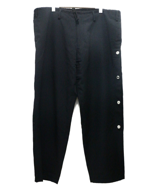 YohjiYamamoto pour homme(ヨウジヤマモトプールオム)YohjiYamamoto pour homme (ヨウジヤマモトプールオム) 1988復刻パンツ ブラック サイズ:3の古着・服飾アイテム