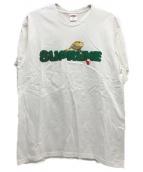 ()の古着「リザードTシャツ」|ホワイト