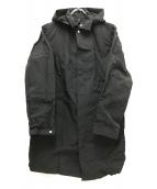 ()の古着「ロールパックジャーニーズコート」|ブラック