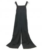 CASA FLINE(カーサフライン)の古着「バックタイベアオールインワン」|ブラック