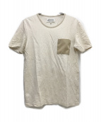 ()の古着「ポケットTシャツ」|ホワイト