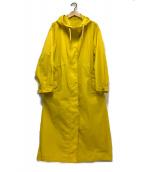 ()の古着「ライトナイロンフードコート」|イエロー