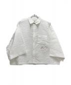 ()の古着「半袖シャツ」|ホワイト