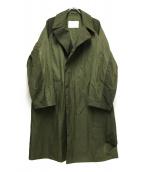 ()の古着「ナイロンコート」|オリーブ