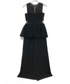 SELF PORTRAIT(セルフ ポートレイト)の古着「オールインワン」|ブラック
