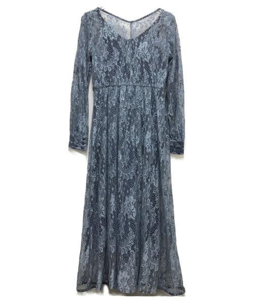 Ameri(アメリ)Ameri (アメリ) 2WAY LAYLA LACE DRESS ブルー サイズ:Fの古着・服飾アイテム