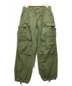 US ARMY(ユーエスアーミー)の古着「ジャングルファティーグパンツ」|グリーン
