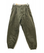 Engineered Garments(エンジニアードガーメンツ)の古着「イージーワイドパンツ」 グリーン
