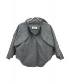 ISSEY MIYAKE(イッセイミヤケ)の古着「変形立体ジャケット」|グレー
