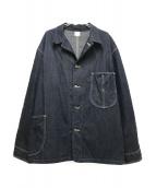 LEE×LECHOPPE(リー レショップ)の古着「ワークデニムカバーオール」|インディゴ