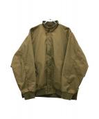 SSZ(エスエスゼット)の古着「スイングトップ」|ブラウン