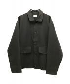 ()の古着「CPOシャツジャケット」 ブラック
